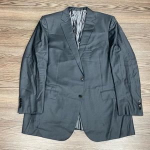Ermenegildo Zegna Charcoal Grey Sport Coat 50L